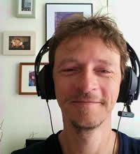Arnaud, casque-micro