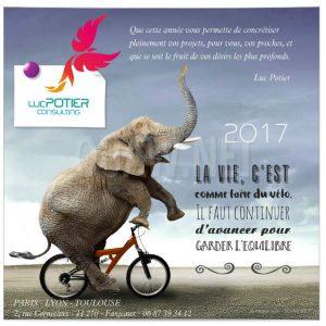 Carte virtuelle 2017 Luc Potier