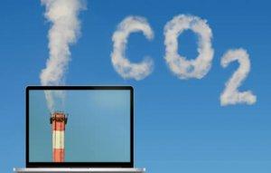 ecard, email : émission de gaz à effet de serre