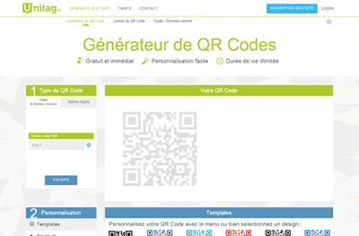 Site Unitag.fr