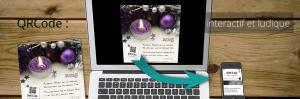 QRcode : interactif et ludique