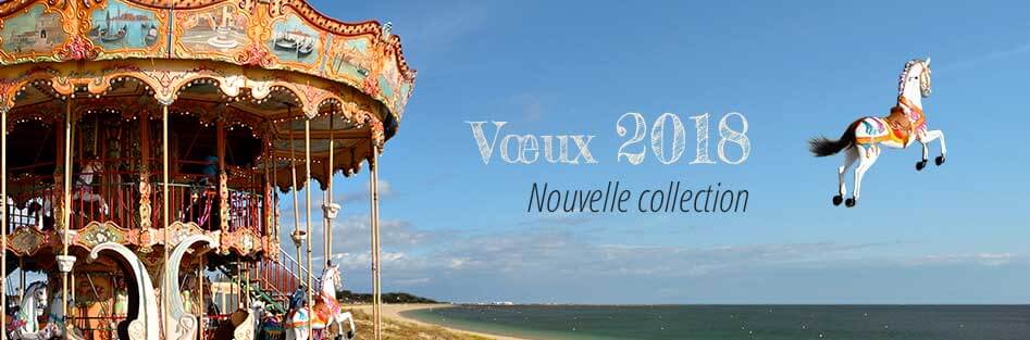 Nouvelle collection de cartes virtuelles professionnelles de vœux 2018