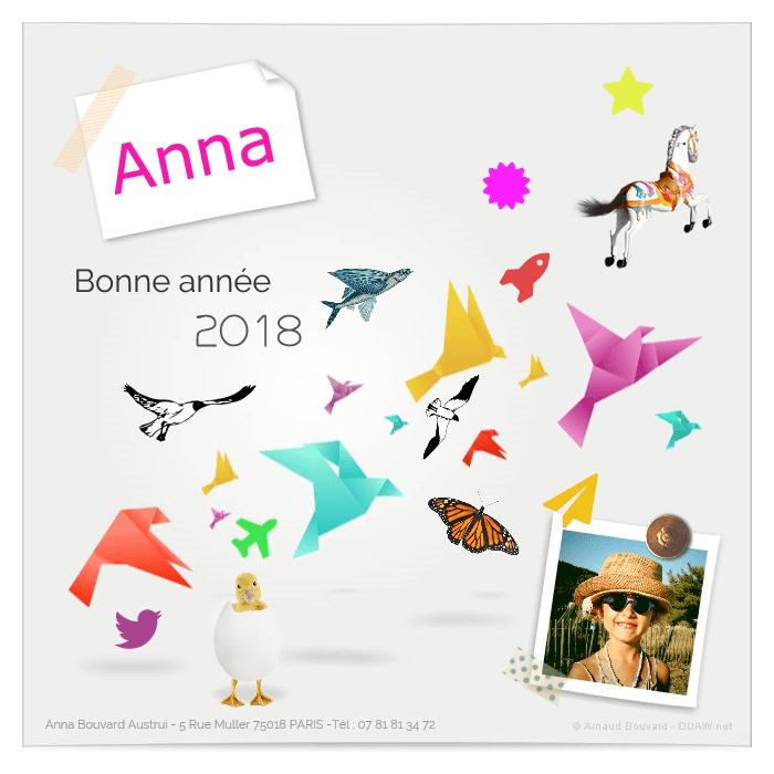 Ecard créée par Anna, 6 ans