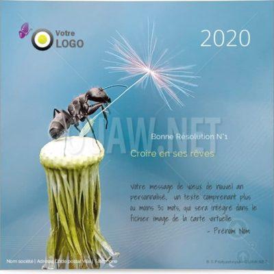 ECVN06 - Ecard entreprise Croire en ses rêves