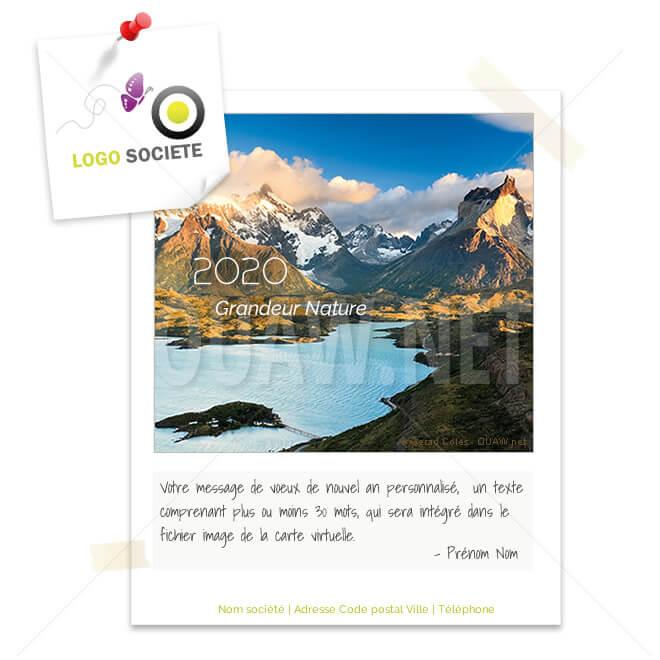 ECVN 16 - Ecard écolo Nature et Montagnes