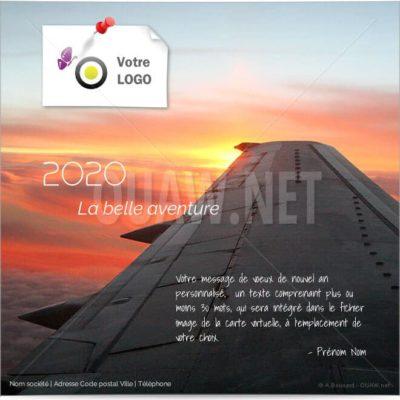 ECVN19 - Ecard Avion, la belle aventure