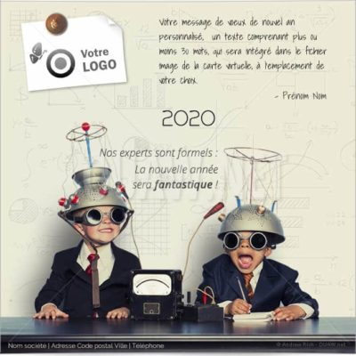 ECVN35 - Ecard pour entreprises Experts Année fantastique