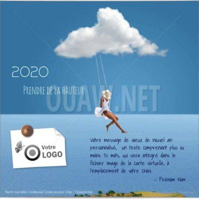 ECVN50 - Ecard entreprise Prendre de la hauteur