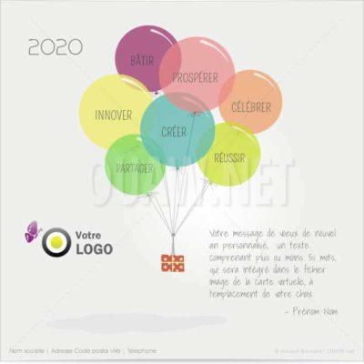 ECVN63 - Ecard professionnelle mots clé