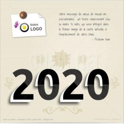 ECVN73 - Ecard 2020 Année de caractère