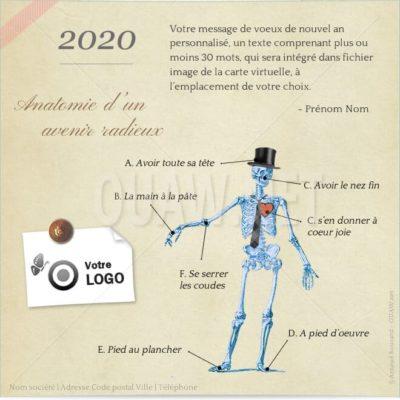 ECVN92 - Ecard entreprise Anatomie avenir radieux