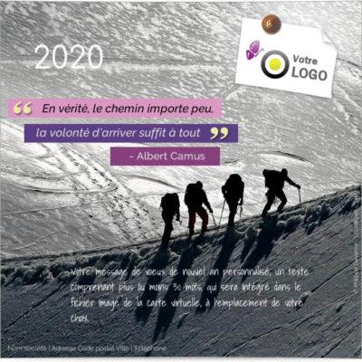 ECVN23 Carte virtuelle entreprise Le chemin est le but