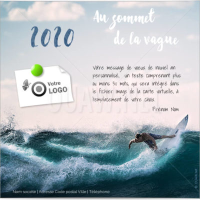 ECVN102 - Carte virtuelle pro Au sommet de la vague