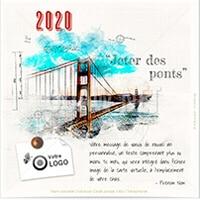 Voeux 2020, nouvelle ecard Ponts