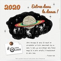 Vœux 2020, nouvelle ecard Danse