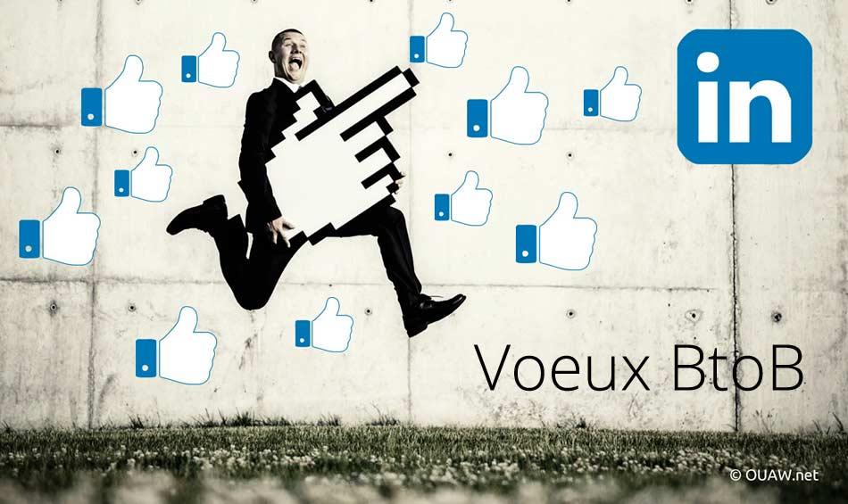 Bannière de Voeux sur Linkedin