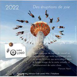 ECVN 125 - Ecard entreprise Eruptions de joie